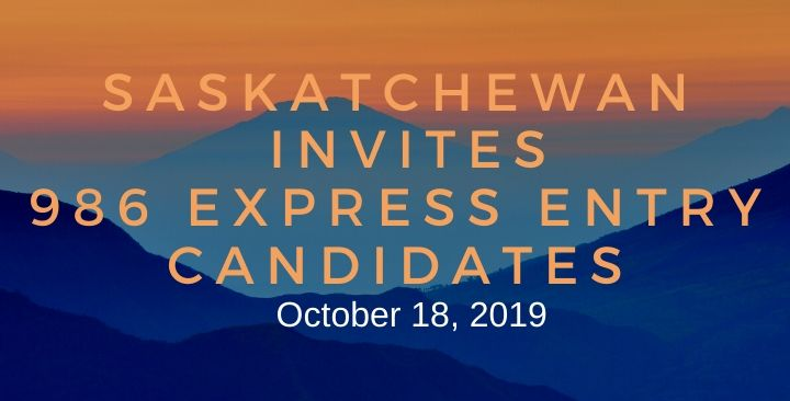 Saskatchewan holds a record draw for express entry candidates