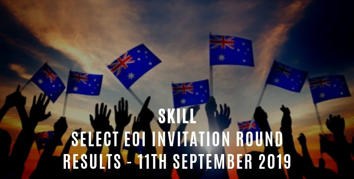 Skill Select EOI Invitation – 11th September 2019
