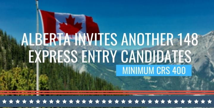 Alberta invites 148 Express Entry candidates