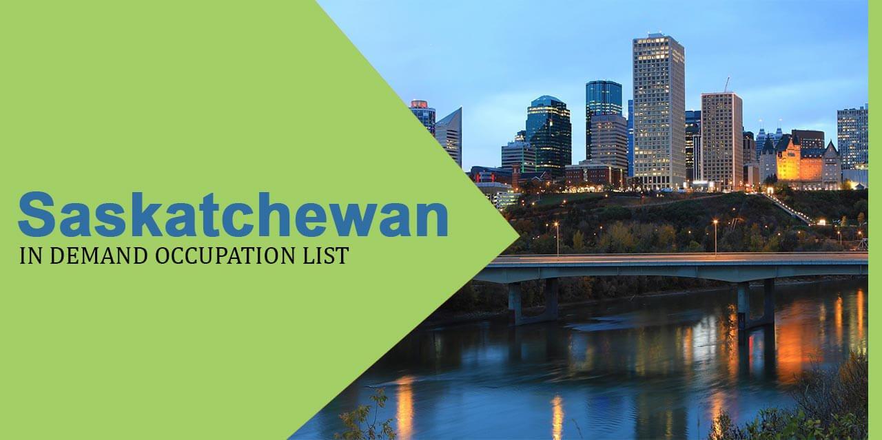 Saskatchewan in demand occupation list