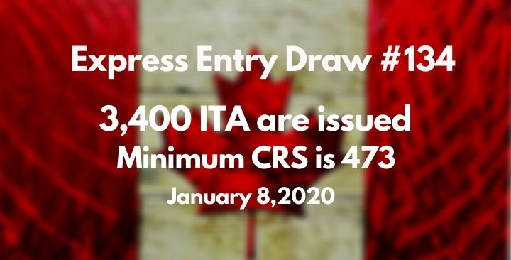 First Express Entry draw of 2020 issues 3,400 invitations to apply for Canada PR