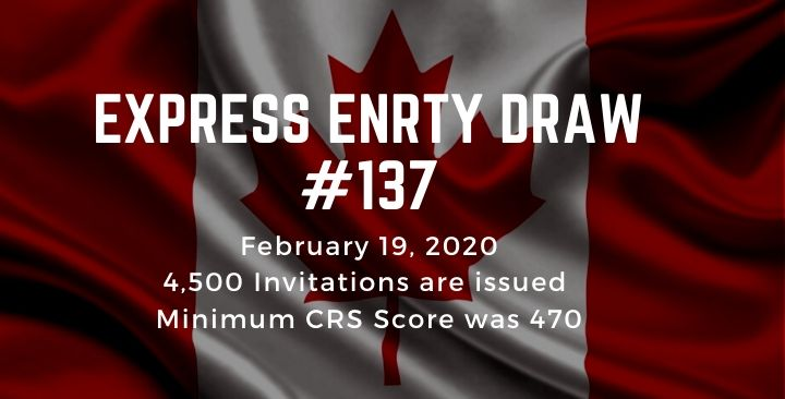 4,500 invitations to apply for Canadian permanent residence