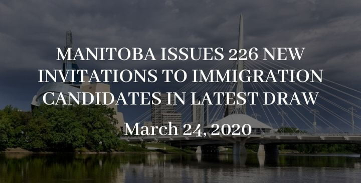 Manitoba issues 226 new invitations to immigration candidates in latest draw